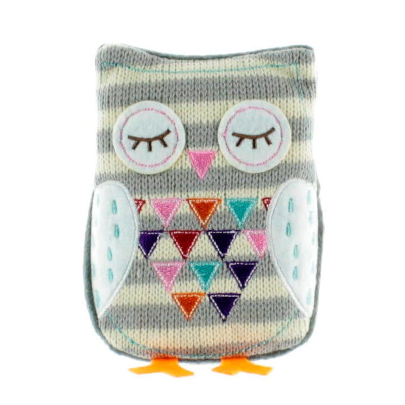 Warming Owl - Gray