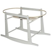 Moses Basket Rocking Stand - Gray