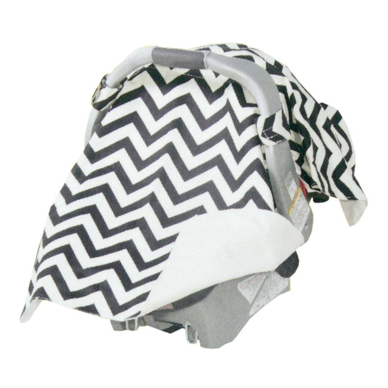 Car Seat Blanket - Chevron