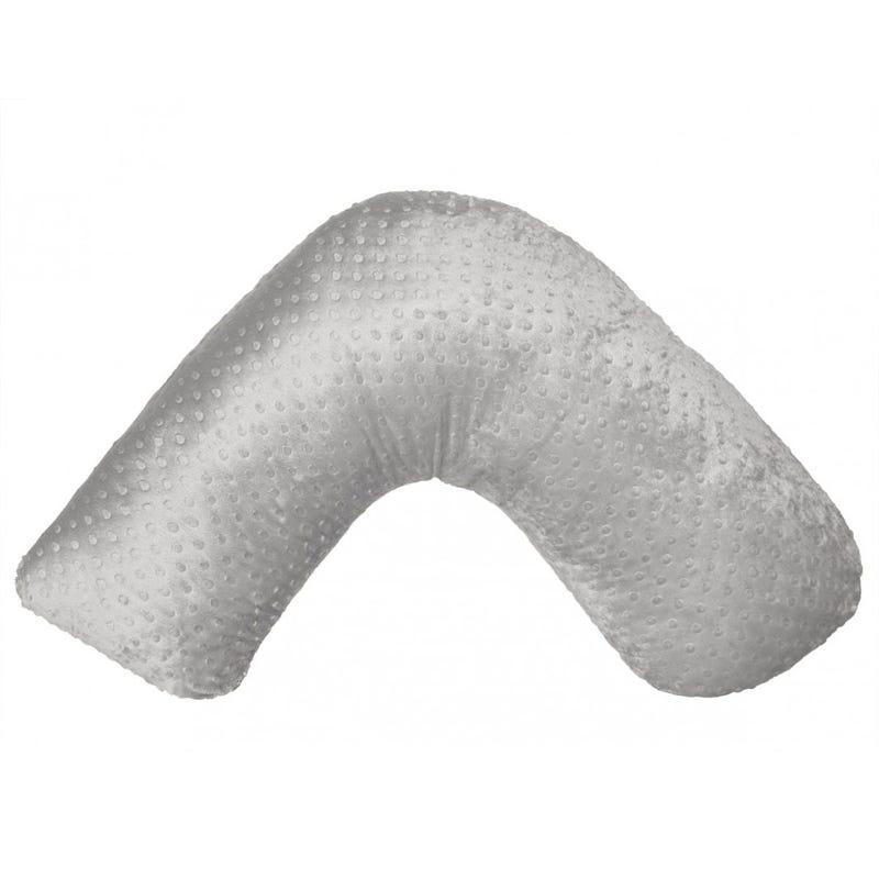 Coussin d'Allaitement Boomerang - Gris
