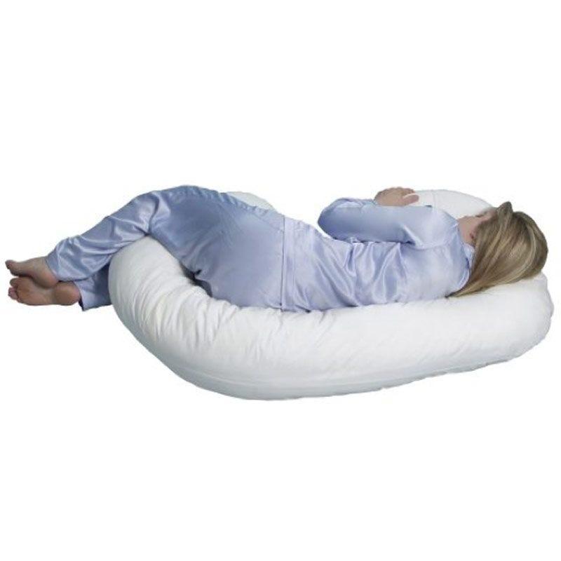 Mama Sleep Eze® Body Pillow - White