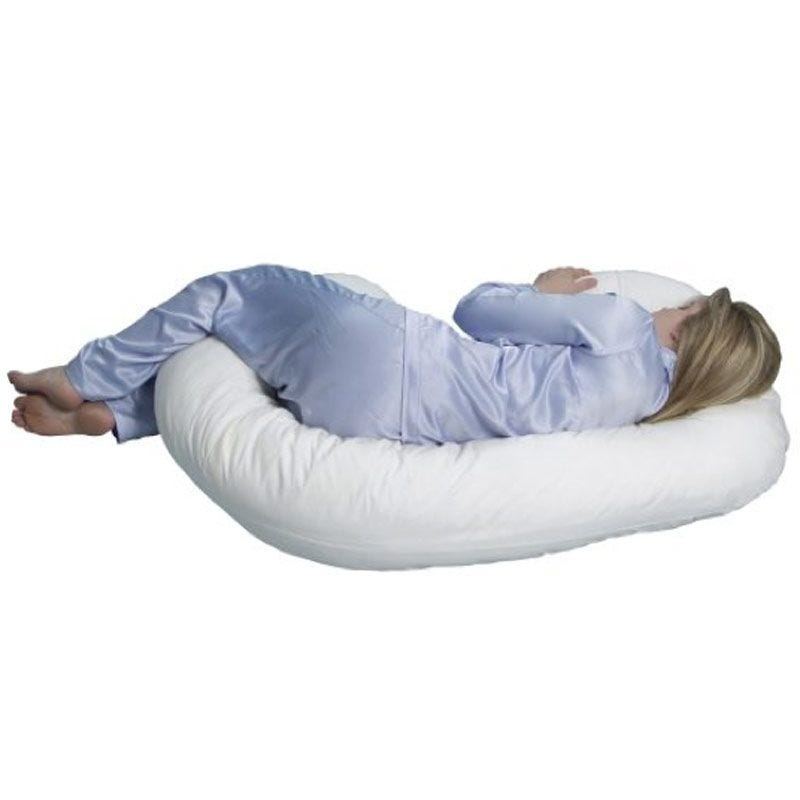 Mama Sleep Eze® Body Pillow - White