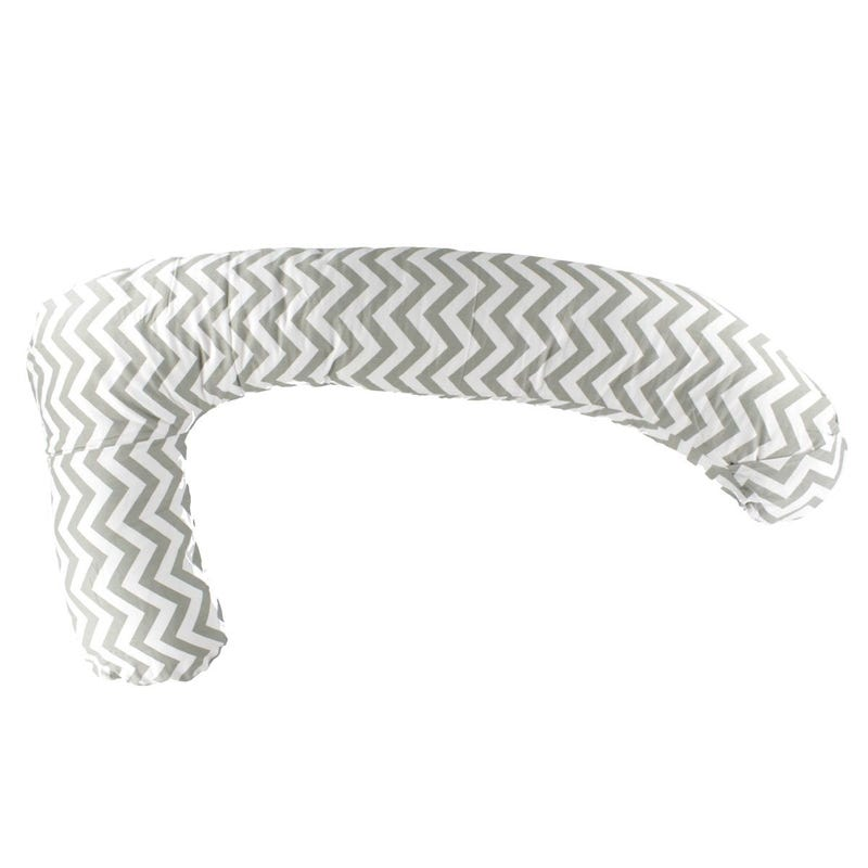Mama Sleep Eze® Slip Cover - Gray Chevron