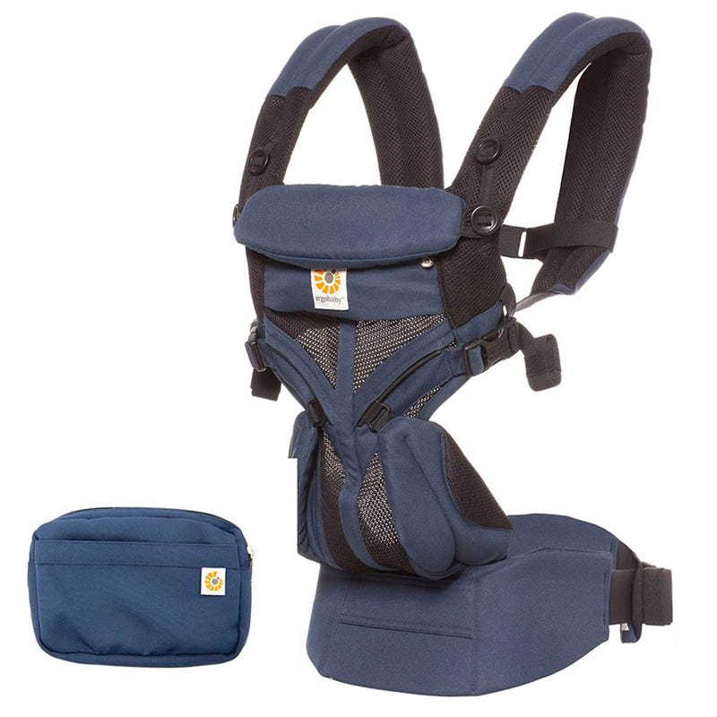 Omni 360 Baby Carrier All-in-one Cool Air Mesh - Raven Navy