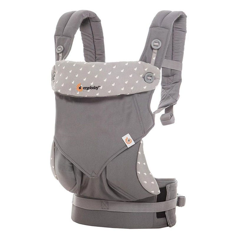 Four Position 360 Baby Carrier - Dewy Gray