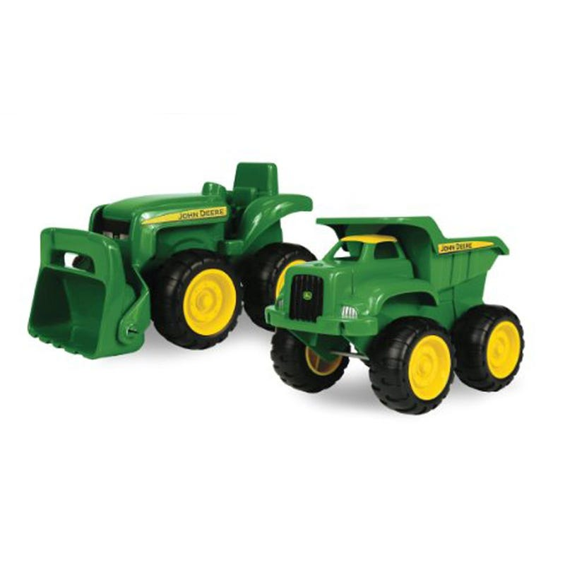 John Deere Toy Tractors Set of 2