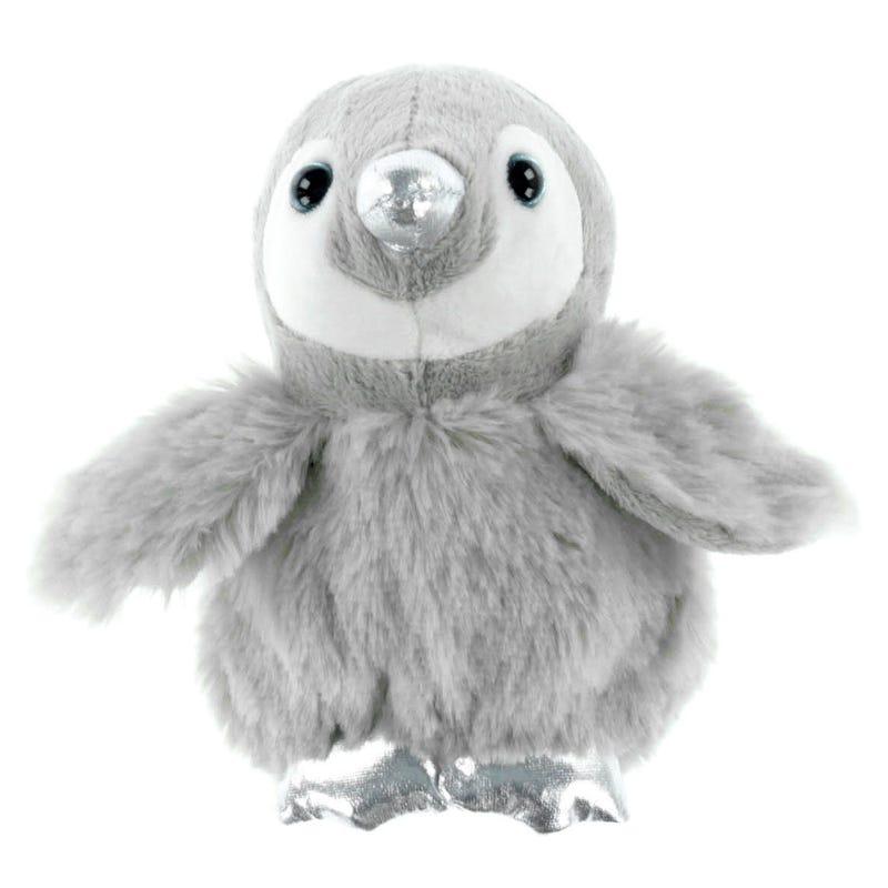 PenguinPlush -Gray/Silver