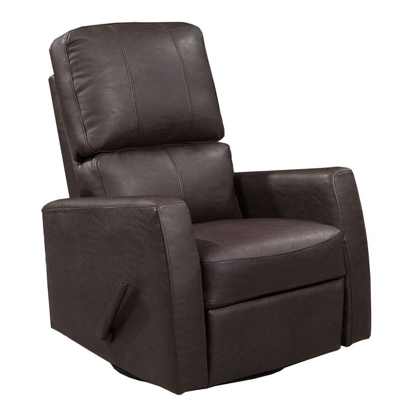 Rocking Armchair - Brown