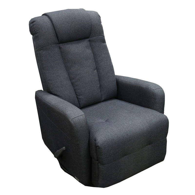 Rocking Armchair - Gray Fabric