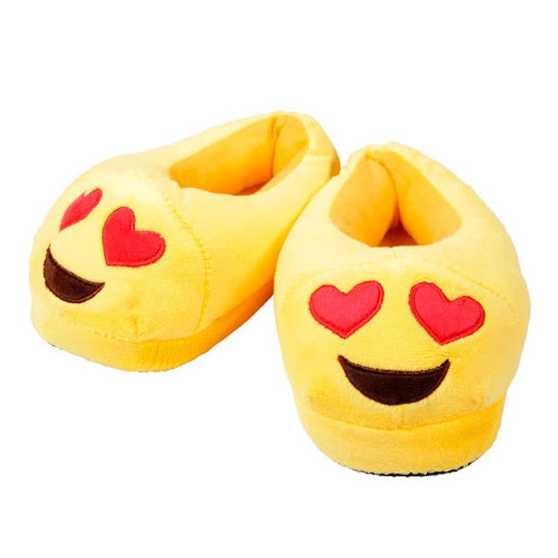 Pantoufle Emoji Coeur Enfant 4-6x