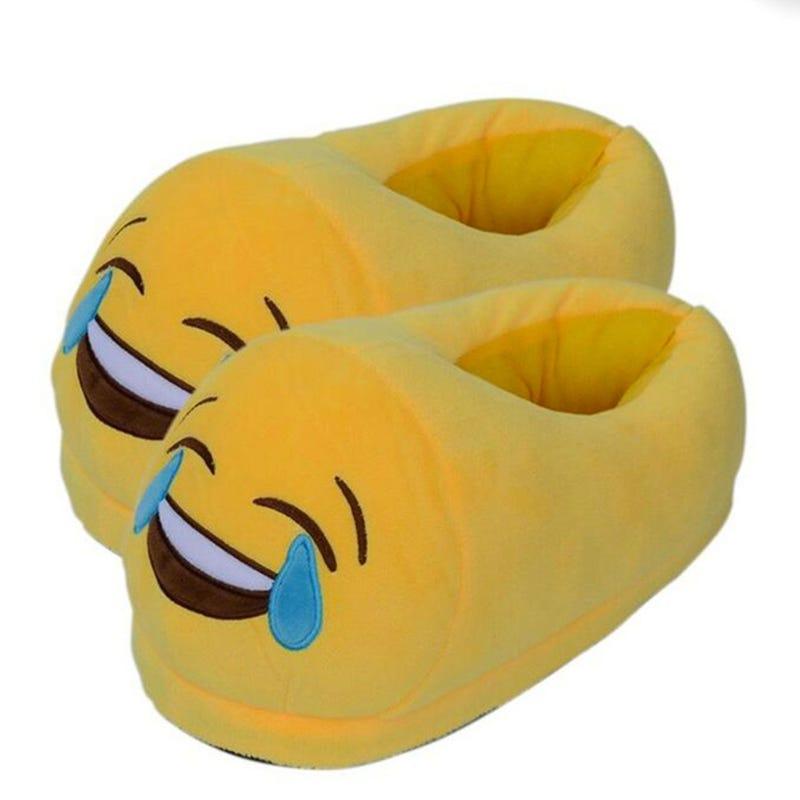 Pantoufle Emoji Fou Rire Enfant 4-6x