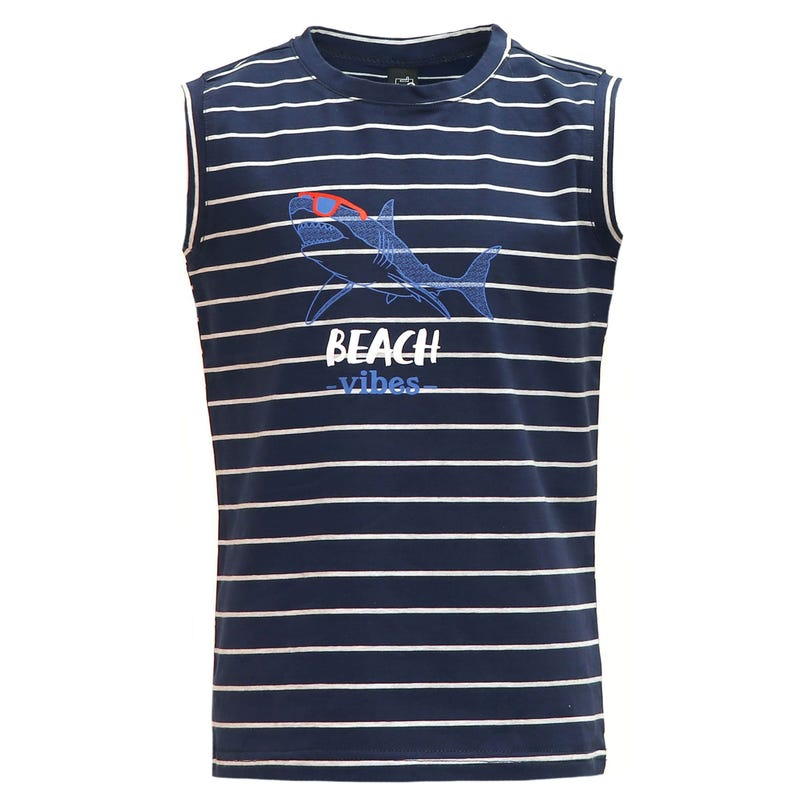 Camisole Rayée Requin 2-8ans