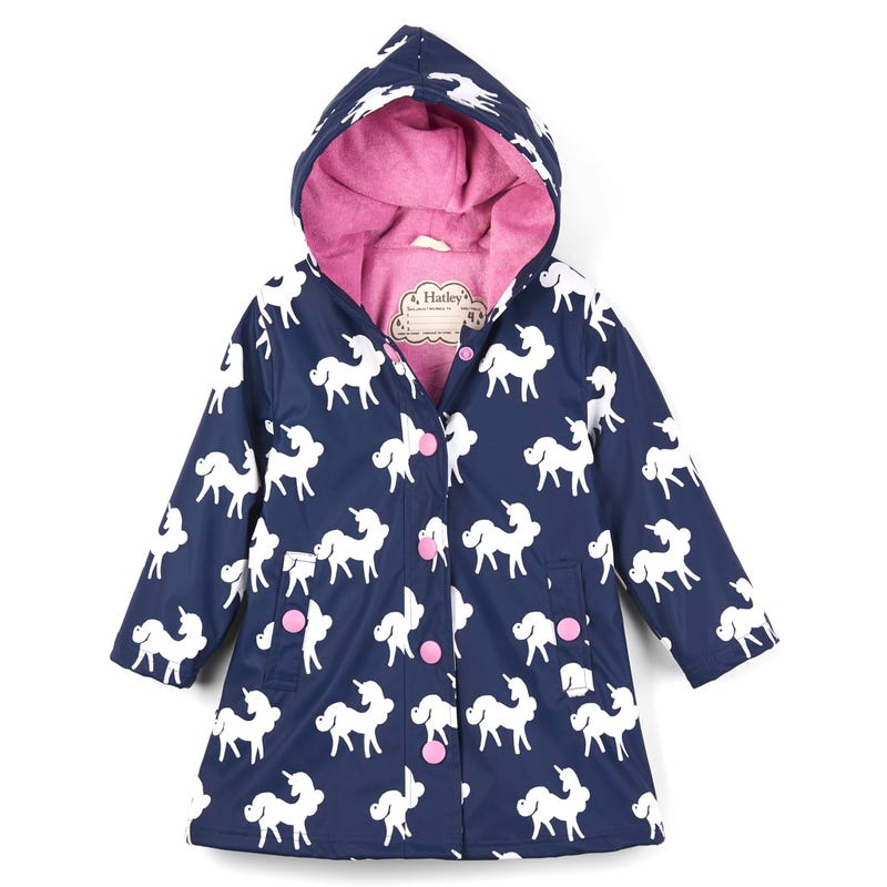 Colour Changing Unicorns Splash Jacket 2-12y