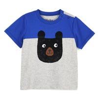 Colour Block Bear Tee 3-24m