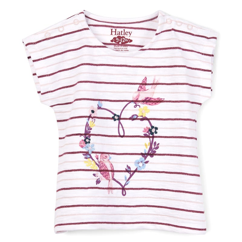 Lovely Birds Tee 3-24m