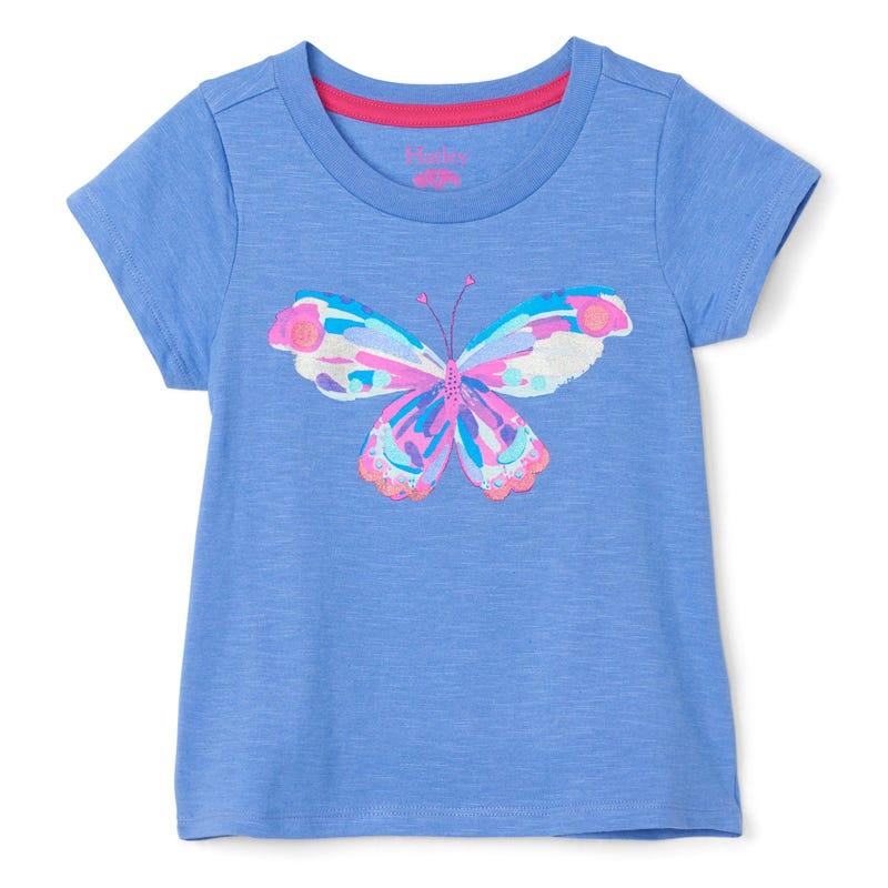 T-Shirt Papillon Fleurs 3-8
