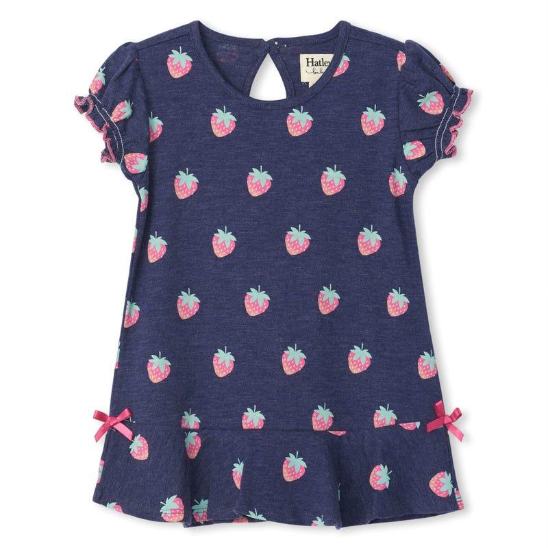 Strawberries Dress 3-24m
