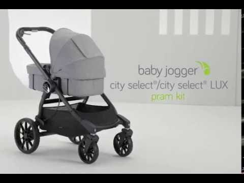 Baby Jogger City Select Lux Pram Kit Port Clement