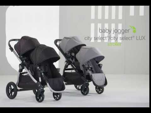Baby Jogger City Select Lux Second Seat Slate Clement