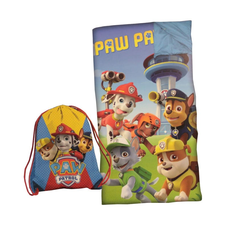 Paw Patrol Sleeping Bag Set