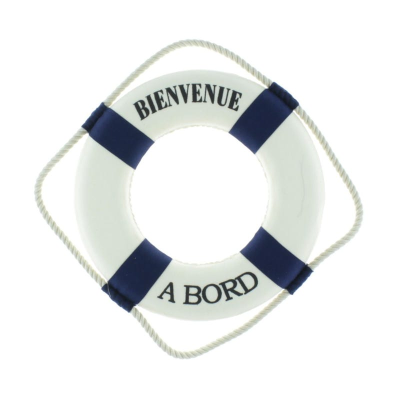 Decorative Buoy - Bienvenue A Bord