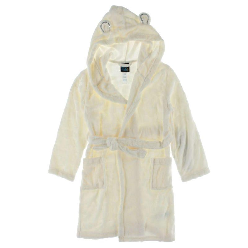 Robe De Chambre 4-16ans - Blanche