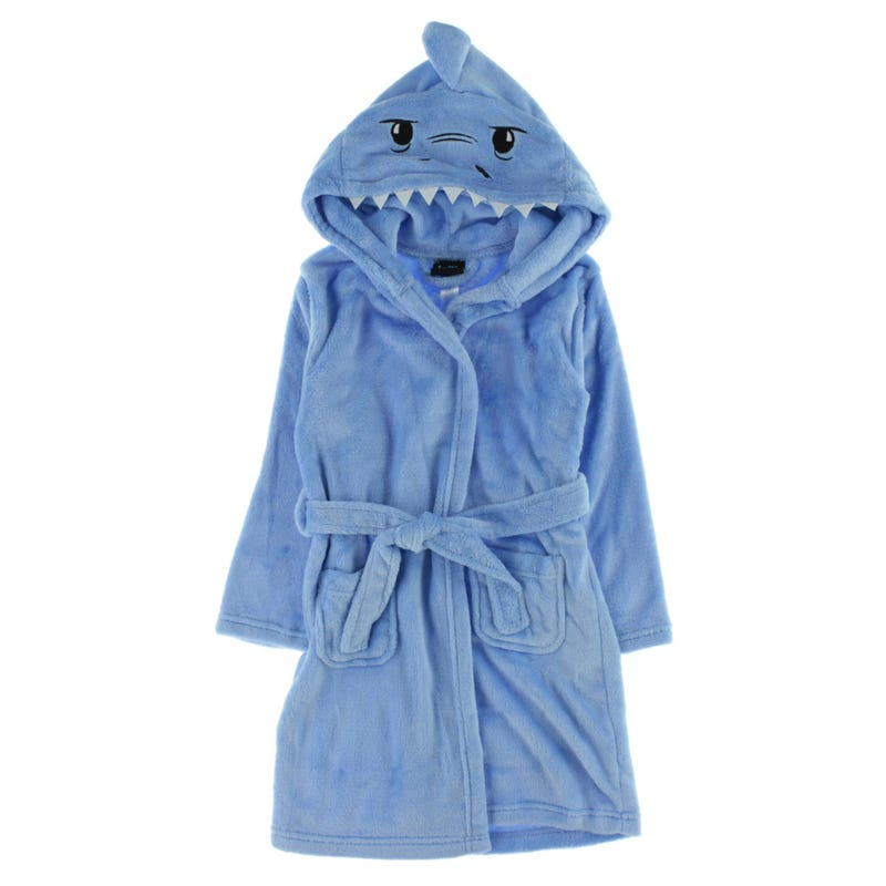 Shark Bathrobe 4-16y