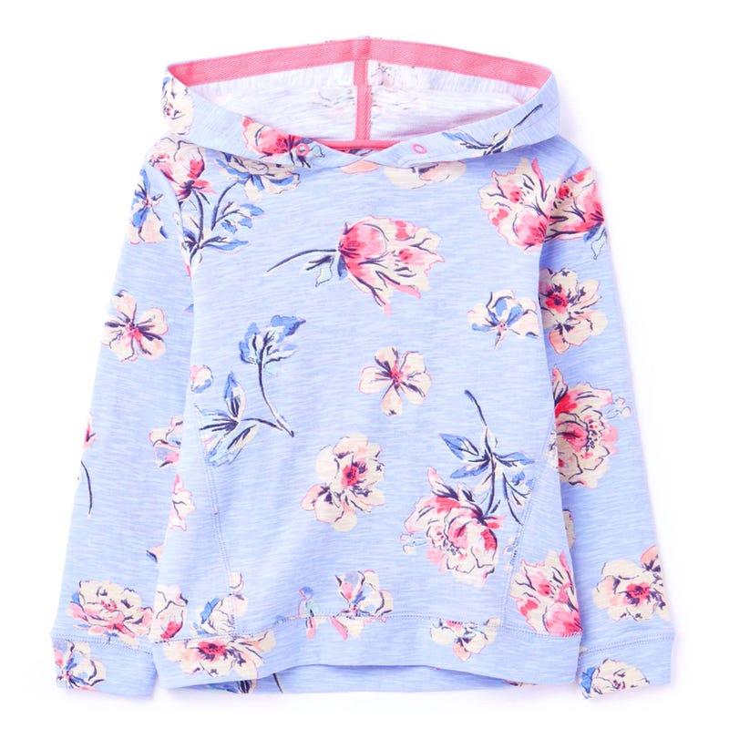 T-shirt Capuchon Floral 3-8ans