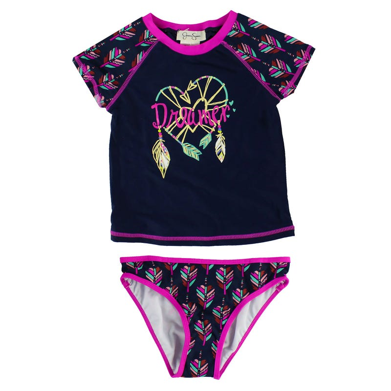Dreamer 2PC UV Rashguard Swimsuit