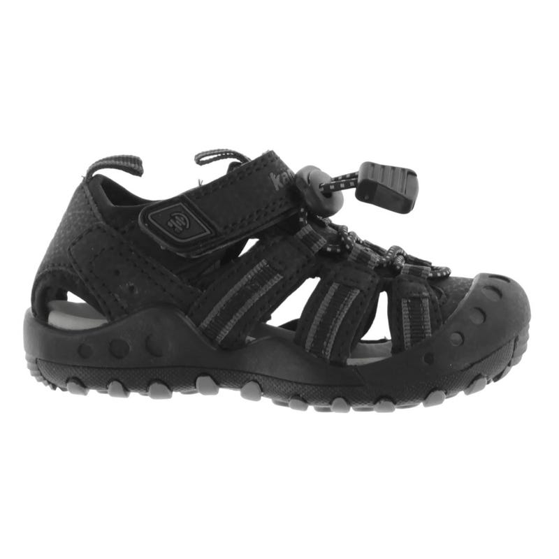 Crab Black Sandal 5-10