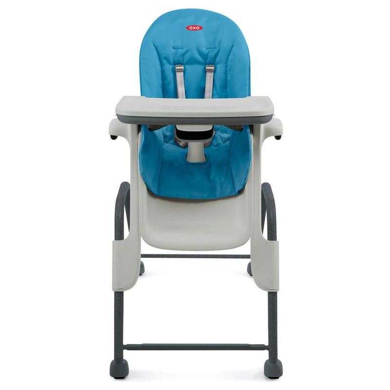 Chaise Haute Seedling - Bleu/Charcoal