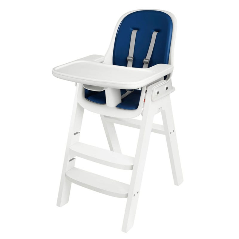 Chaise Haute Sprout OXO Tot - Blanc / Marine