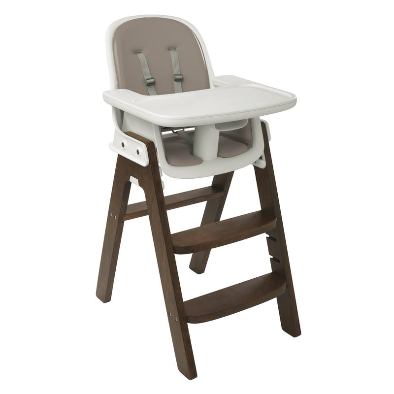 Sprout High Chair - Taupe/Walnut