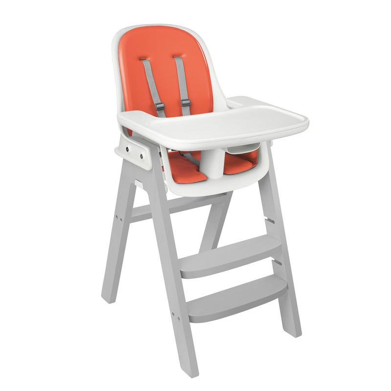Chaise Haute Sprout OXO Tot - Gris/Orange