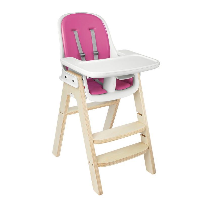 Sprout High Chair -  Pink/Birch