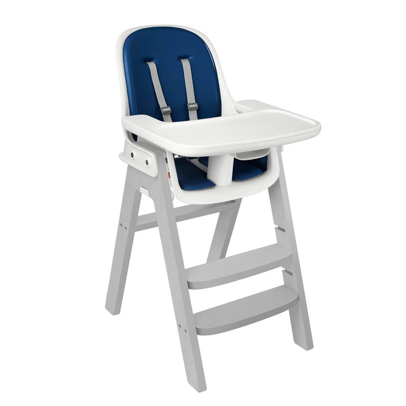 Sprout High Chair - Gray/Navy