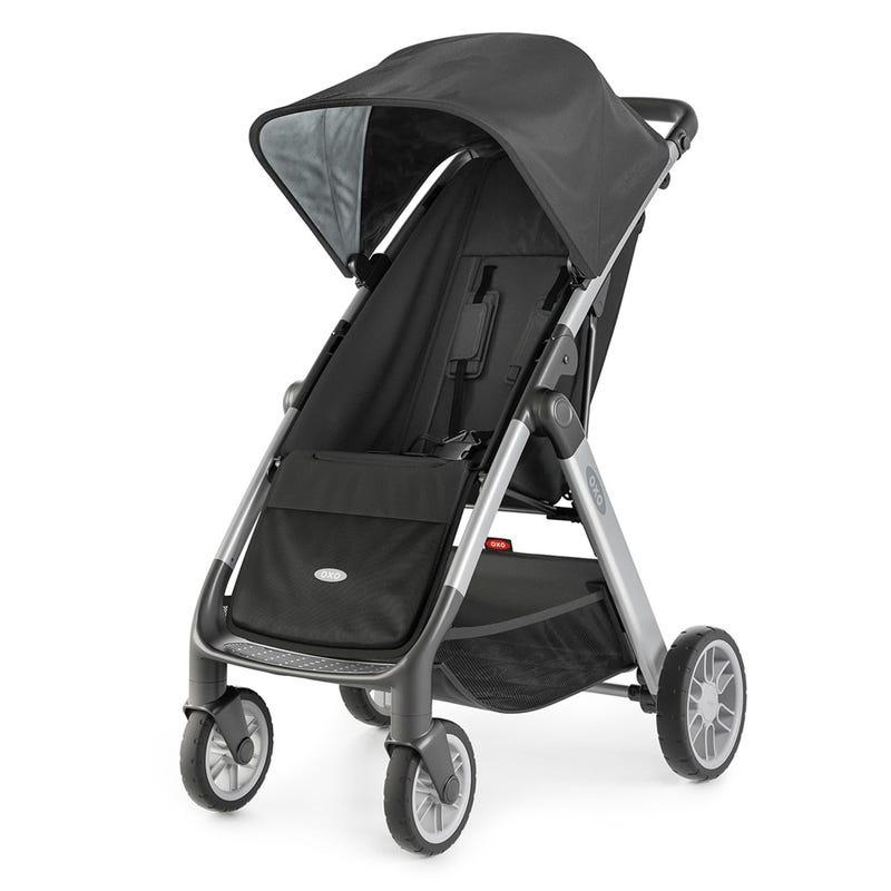 Stroller - Cubby  - Gray/Black