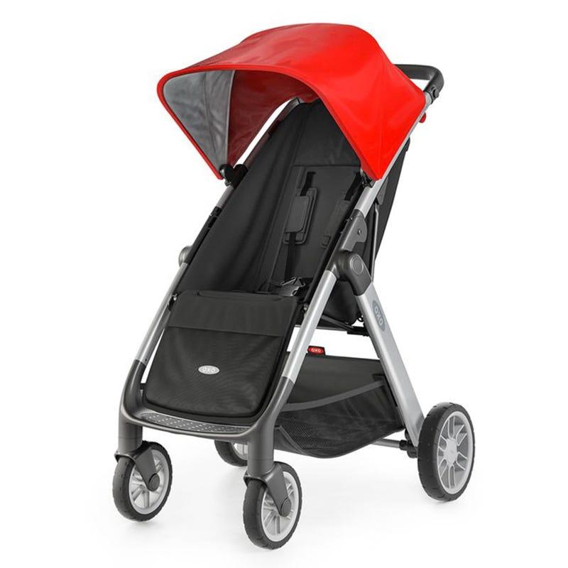 Stroller - Cubby - Black/Red
