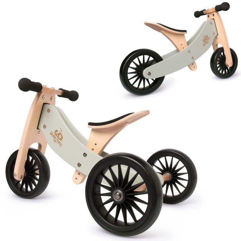 Tiny Tot Balance Bike Plus 2 in 2 - Silver Sage