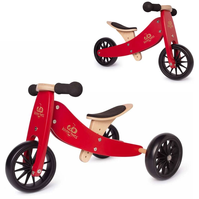 Tiny Tot Balance Bike 2 in 1 - Red