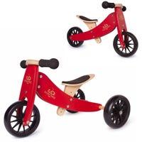 Vélo d'Équilibre 2 en 1 Tiny Tot - Rouge