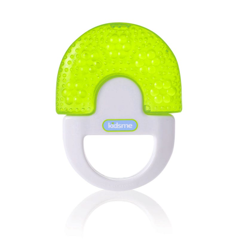 Water Filled Soother With Handle  - Yellow
