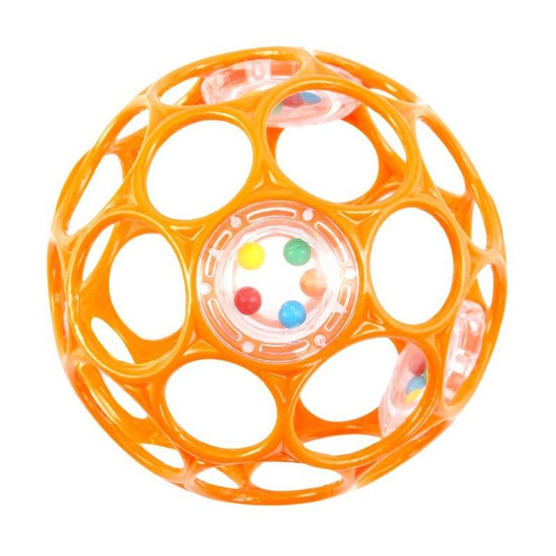Oball Rattle -Orange