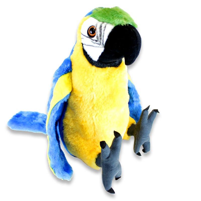 Peluche Perroquet Bleu
