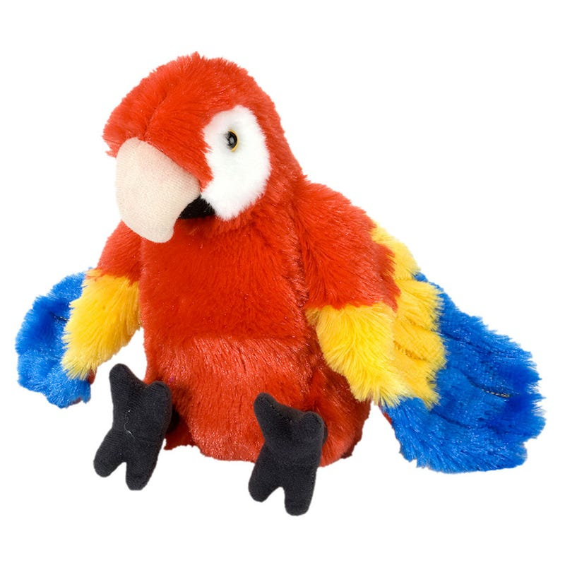 Plush Parrot - Red