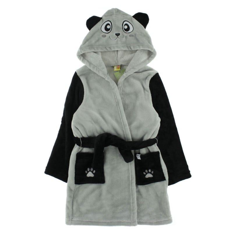 Cozy Animal Robe 2-6y - Paul The Panda