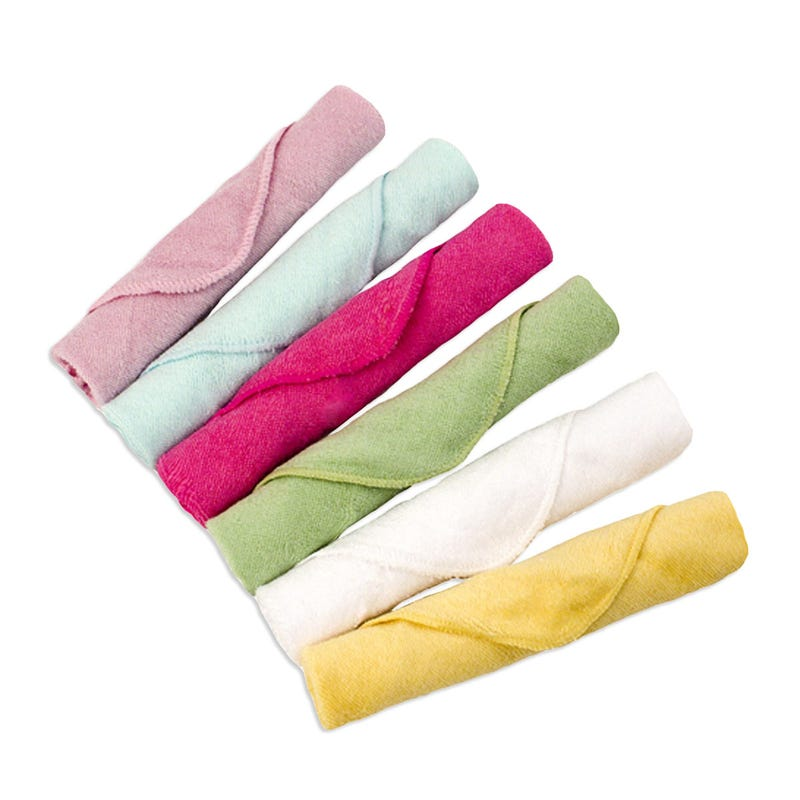 Washcloths set of 6