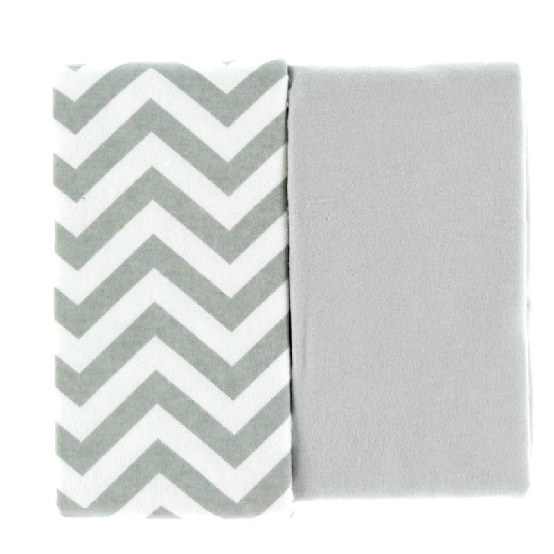 Couverture Paquet de 6 - Gris Chevron