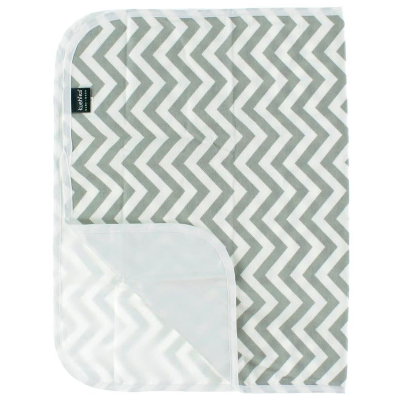 Waterproof Change Pad - Gray Chevron