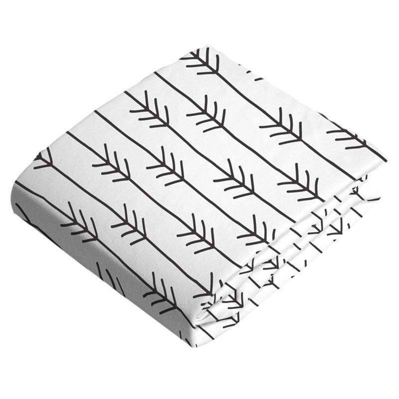 Crib Sheet - Flannel Arrow